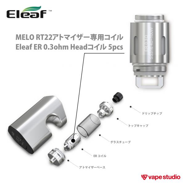 Eleaf ASTER RT with MELO RT22スターターキット