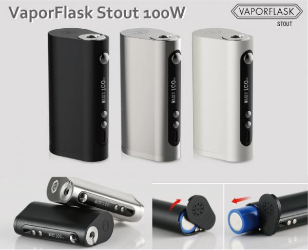 【BF特別価格】VaporFlask Stout バッテリー 100W