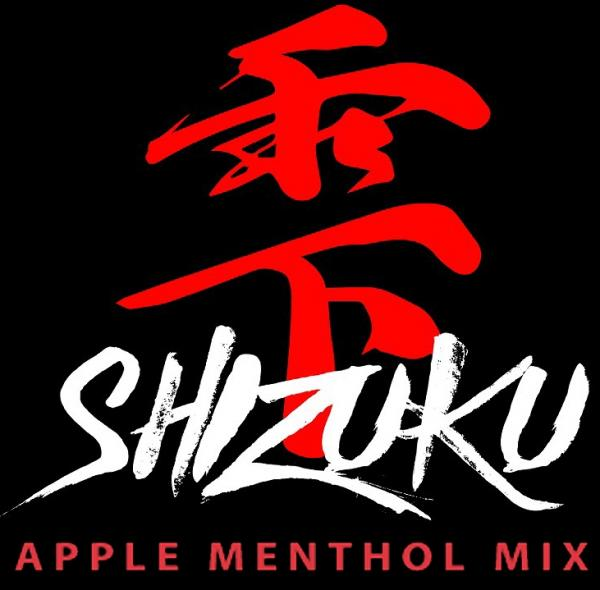 Vape Fuel 雫 APPLE MENTHOL MIX 15ml
