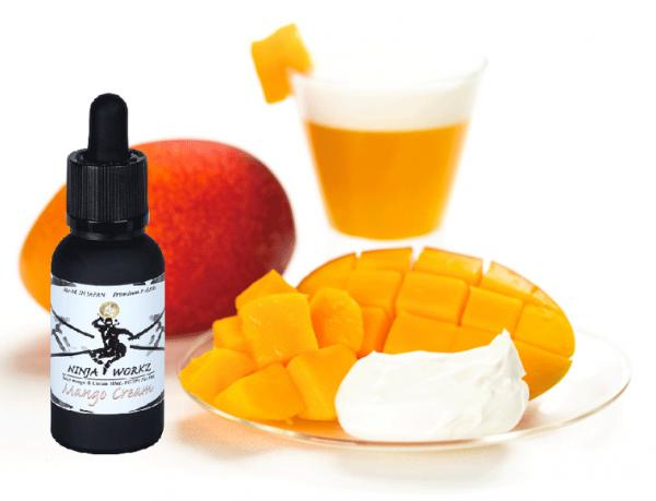 NINJA WORKS Mango Cream 30ml