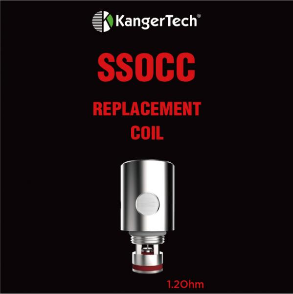 Kangertech SSOCC线圈1.2ohm 5pcs安排
