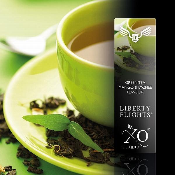 LIBERTY液体绿茶芒果&荔枝PG50VG50