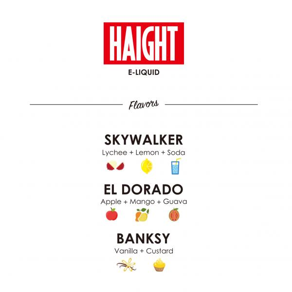 HAIGHT E-LIQUID Skywalker 30ml