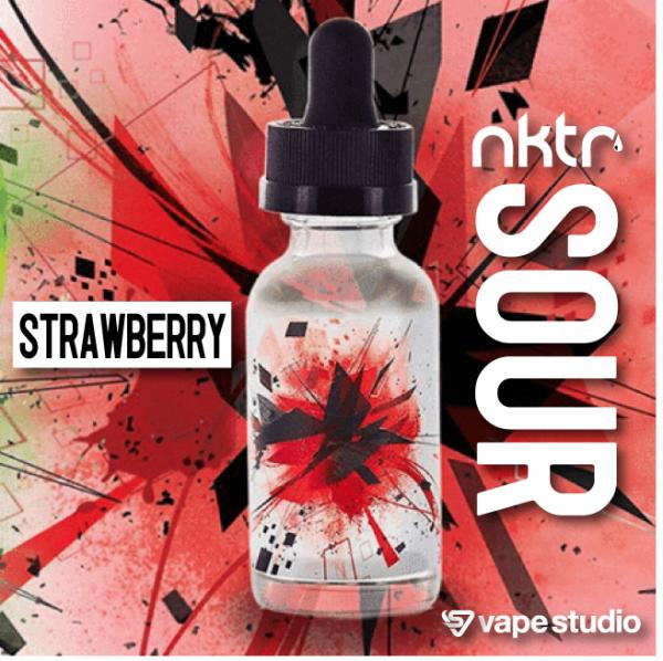 nktr SOUR STRAWBERRY 30ml