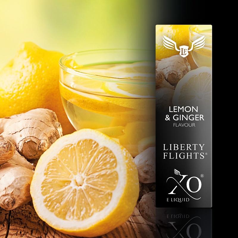 LIBERTYFLIGHTS液体柠檬&姜VG