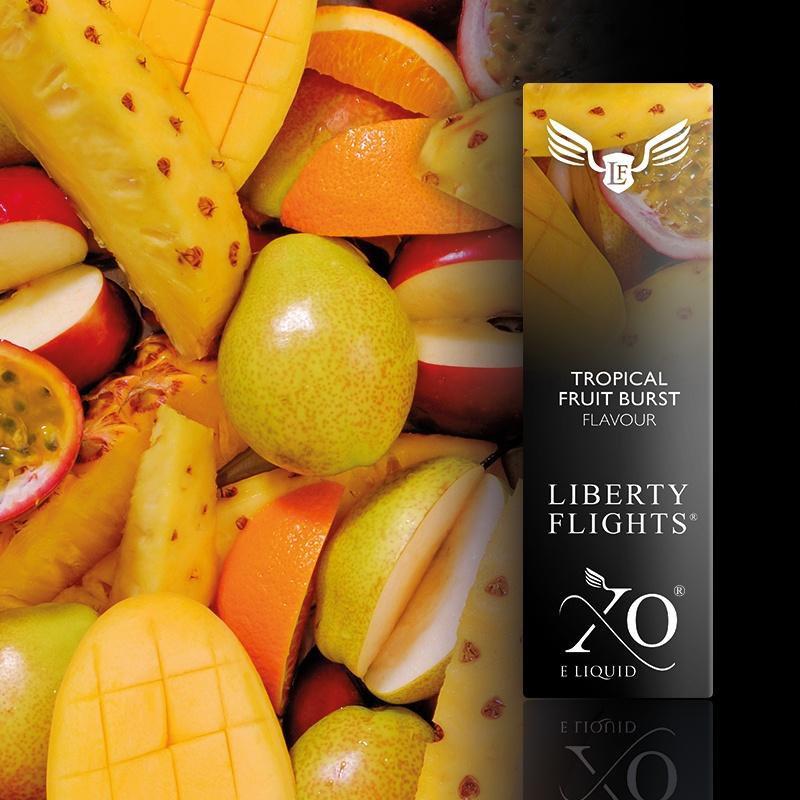 LIBERTYFLIGHTS液体热带水果爆裂VG
