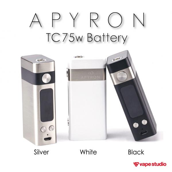 Nobacco Apyron TC75W battery