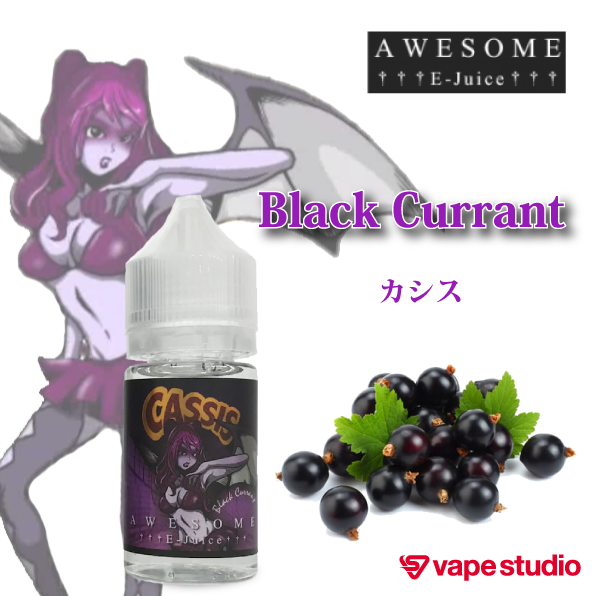 AWESOME E-Juice Black Currant 30ml