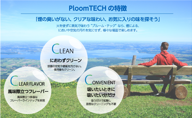 Ploom TECHの特徴